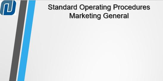 standard operating procedures examples