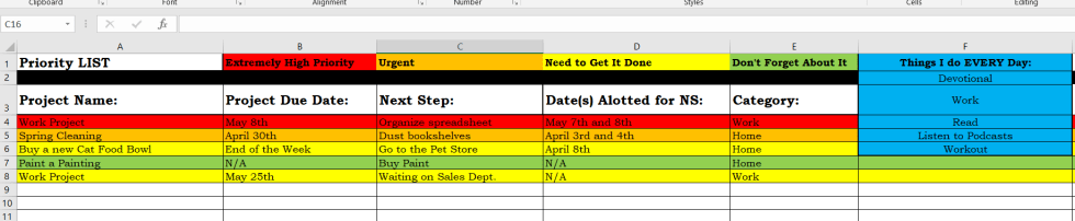 excel task tracker template to get more work done free download
