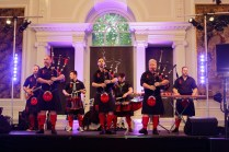 Stage - Red Hot Chilli Pipers