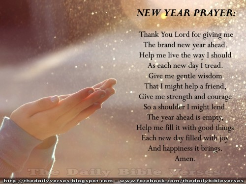 New Year Blessings to you and your families    Hope United Methodist     new year quotes prayer 500x375