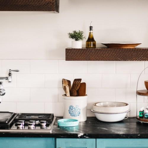 Summer Kitchen Refresh || Aria Diffuser & Oil Storage