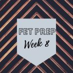 FET Prep Week 8: Migraines & Some Good News