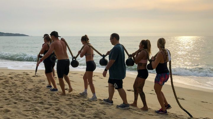 Samui Fitness Retreat Rope