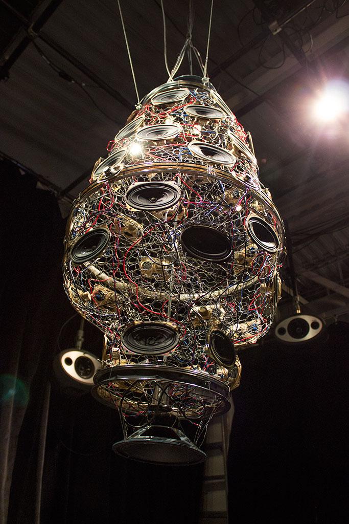 Long Shot of Hive 2.0 Sculpture
