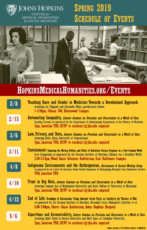 Johns Hopkins  Center for Medical Humanities  & Social Medicine