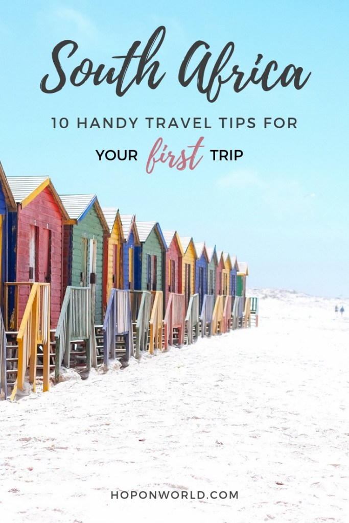 South Africa Travel Tips // Planning your first visit to South Africa can be overwhelming. Check out these 10 tips that will help you explore South Africa with ease - as recommended by a local. #southafrica #travel #firsttimerguide #traveltips