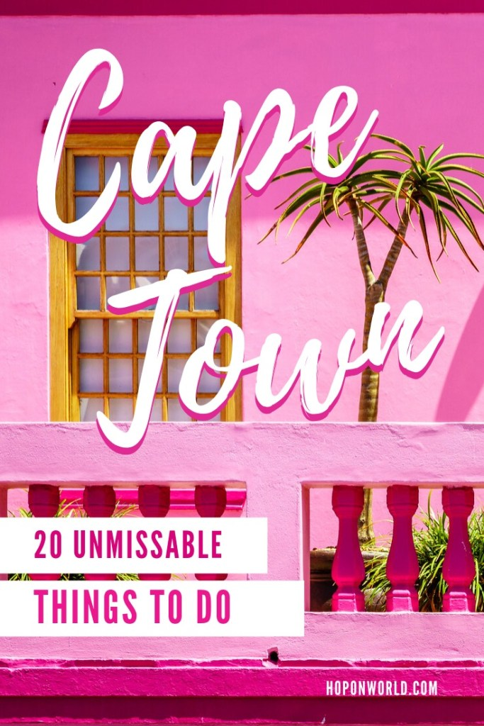 Cape Town, South Africa // Planning a visit to Cape Town? This 7 day Cape Town itinerary sets out 20+ unmissable things to do in Cape Town. Find out what to do in Cape Town and get all our top tips so that you can spend less time planning and more time enjoying your Cape Town trip. #capetown #southafrica #itinerary #travelplanning #thingstodo #tablemountain #visitsouthafrica