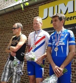 Frank Witlox Nederlands Kampioen WFN Masters 50+