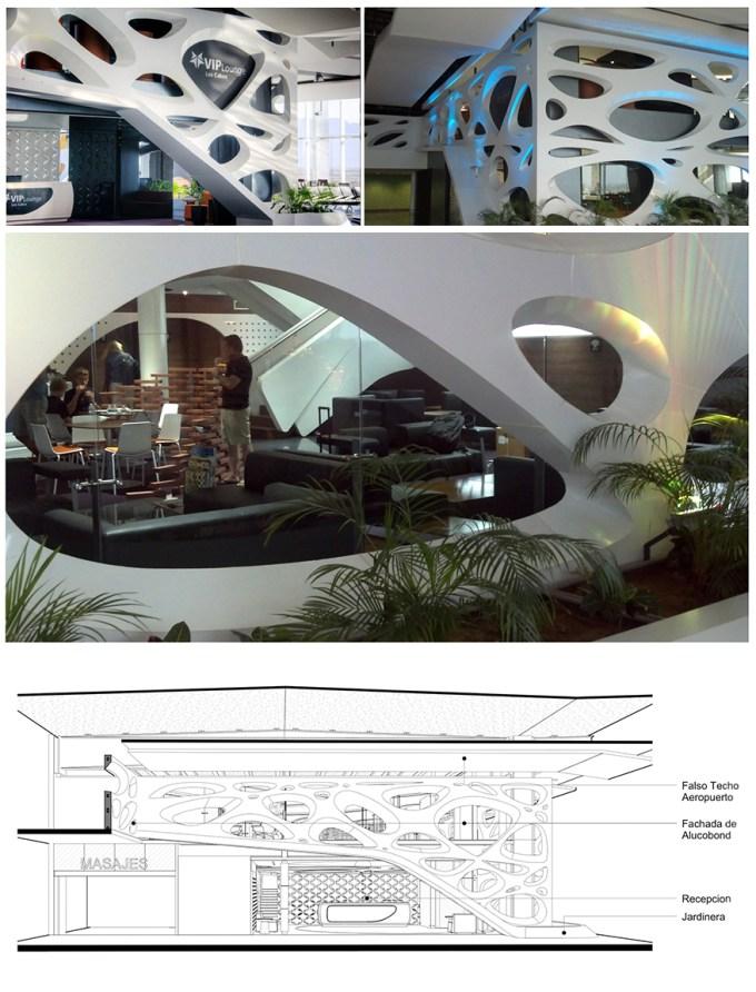 VIP Lounge del cabo airport