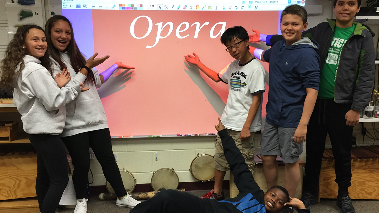 GDS 7th Graders Learn about Opera