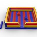 Interactive Inflatable Games Rental The Big Splash Basketball Shootout Zorb Criss Cross Gladiator Joust