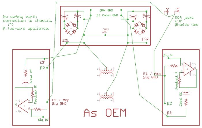 Power supply wiring OEM