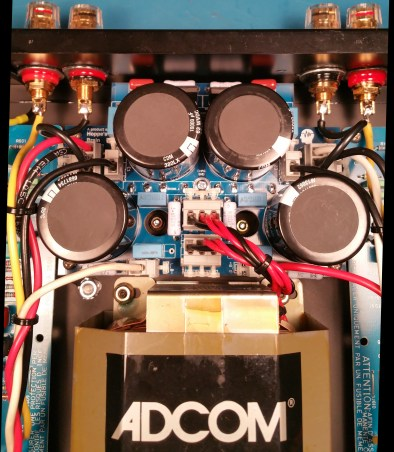 Adcom GFA-535 II Power Supply Installed