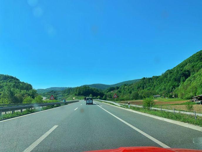 road trip in Serbia