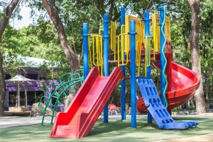 Having a place where you can build a playground is often a requirement of starting a daycare center.