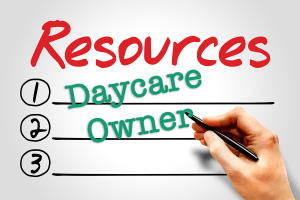 Daycare owner resources