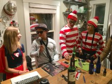 Or for Waldo and Wenda to visit at Halloween.