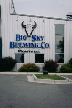 Big Sky Brewing Co. building in Missoula, MT.