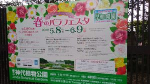 神代植物公園 川崎市の介護タクシー