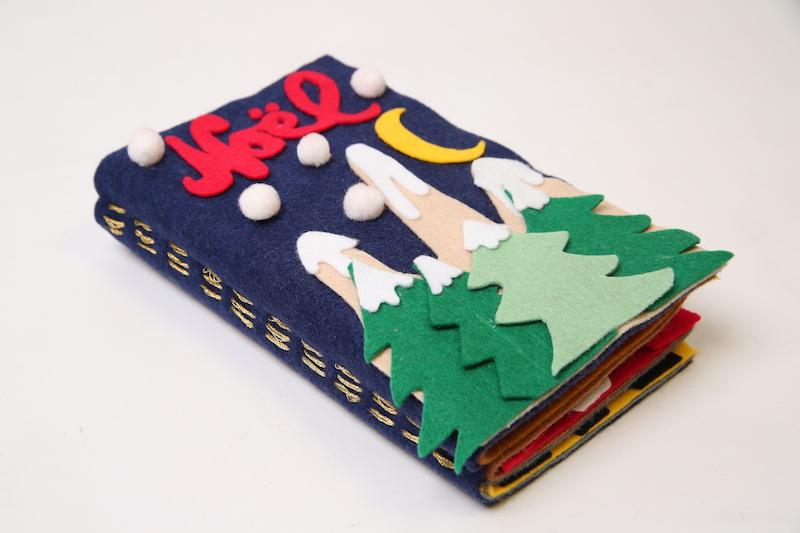 je fabrique un livre sensoriel de
