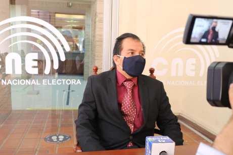 Leonardo León León, presidente de la JPE-L.
