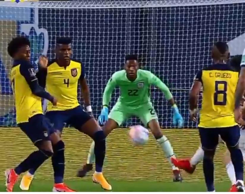 La selección ecuatoriana tuvo una dura prueba.