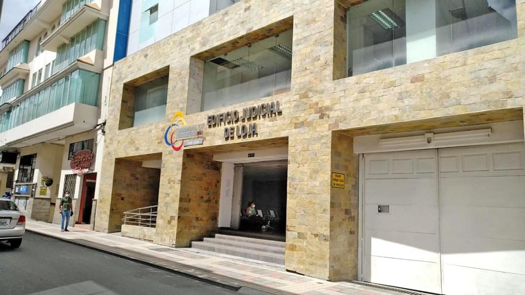 La diligencia se realizó en una de las salas de la Corte de Justicia de Loja.