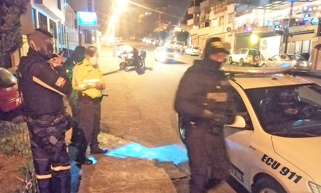 Los gendarmes patrullaron durante las 24 horas.