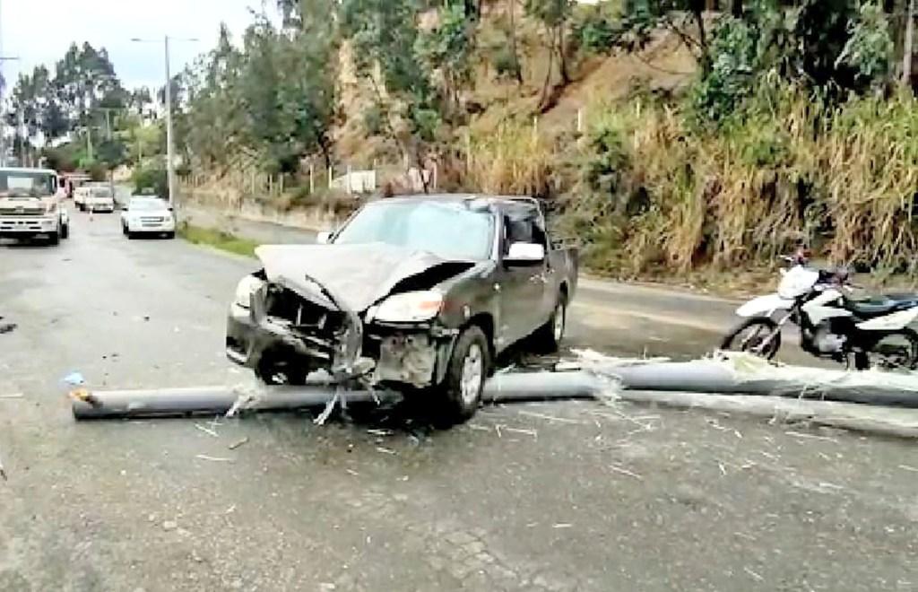 El conductor resultó ileso, tras sufrir una convulsión.