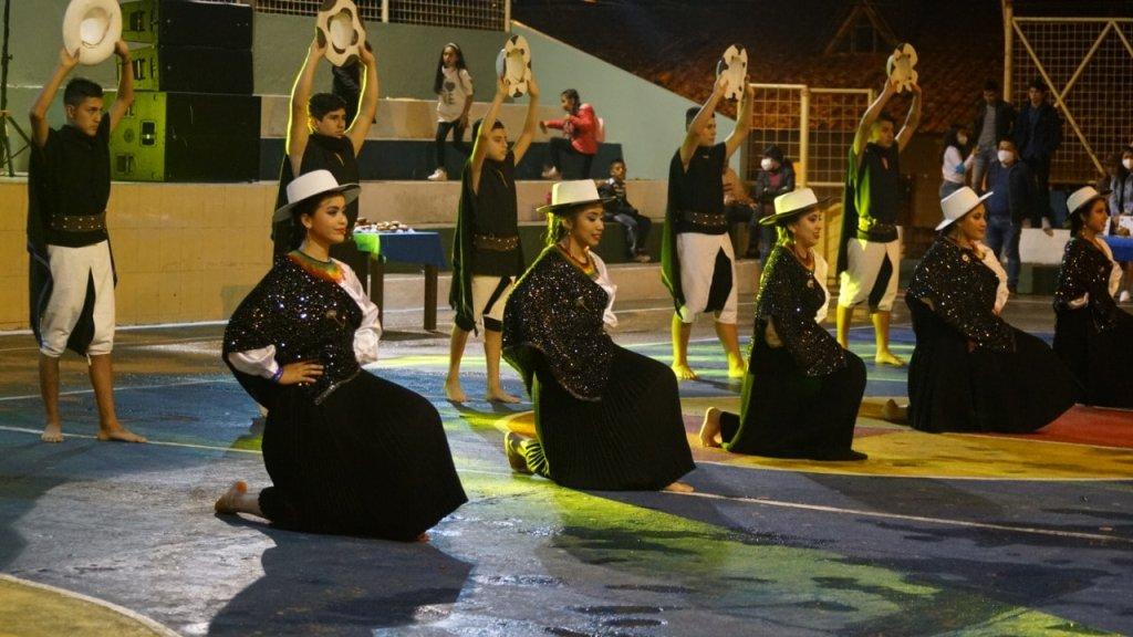 Cómo parte de las actividades, hubo un festival de danza.