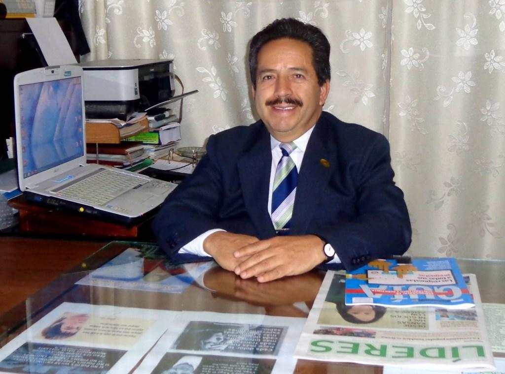 Raúl Miranda Delgado, presidente de la Federación Nacional de Economistas.