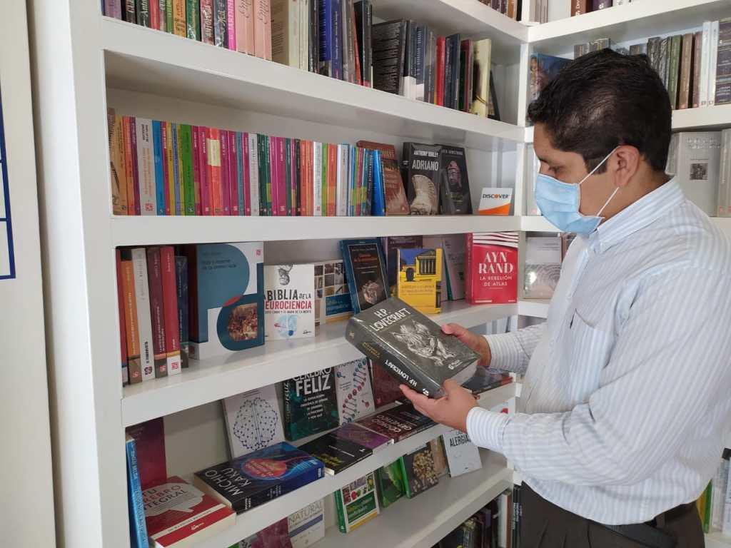 Los libros se convirtieron en un refugio durante estos meses.
