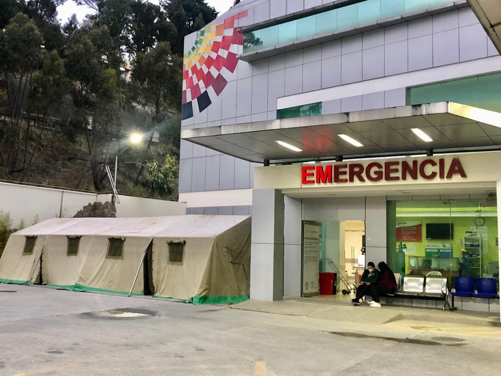 Hay dos hospitales en Loja donde atienden los casos Covid-19.