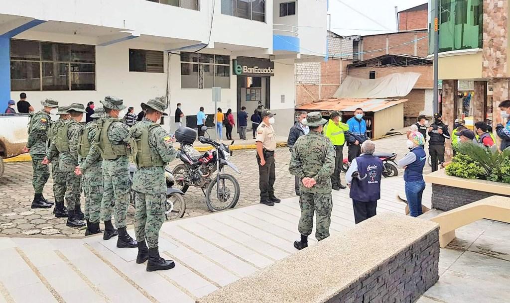 Los operativos son en la zona fronteriza entre Ecuador y Perú.