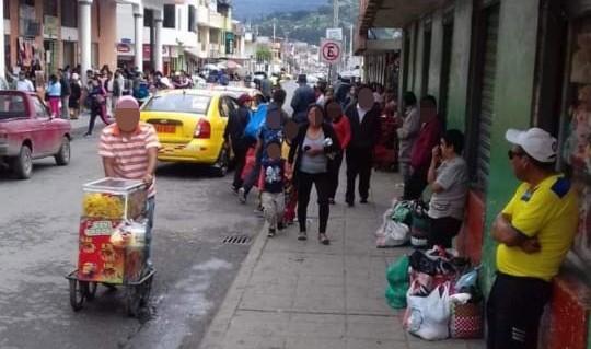 La zona está ubicada en la parte norte de la ciudad de Loja.