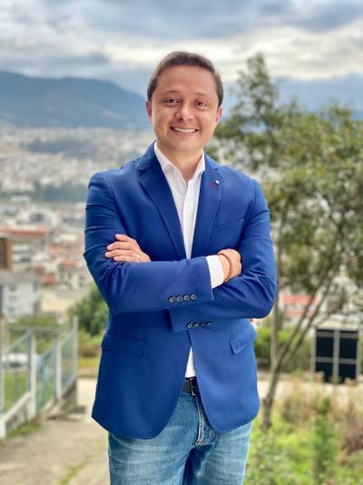 Byron Maldonado Ontaneda es un rostro nuevo en la política local.