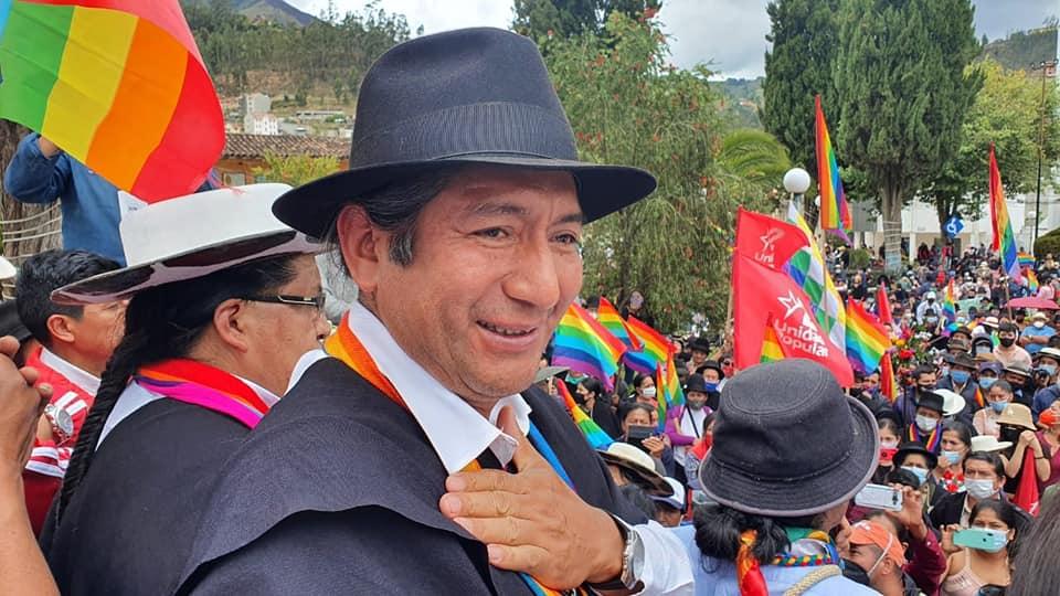 Salvador Quishpe es uno de los rostros más representativos de Pachakutik.