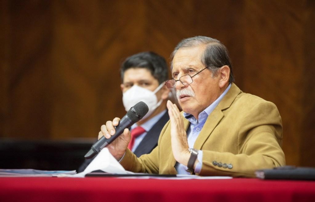 El burgomaestre de Loja, Jorge Bailón Abad.