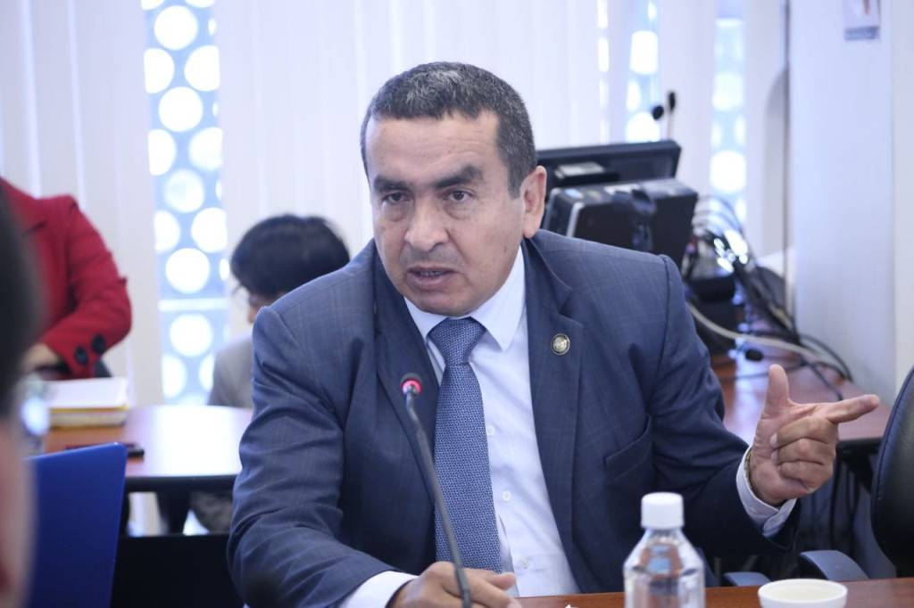 Elio Peña Ontaneda, asambleísta de Zamora Chinchipe y presidente de la Comisión de Fiscalización de la Asamblea Nacional.
