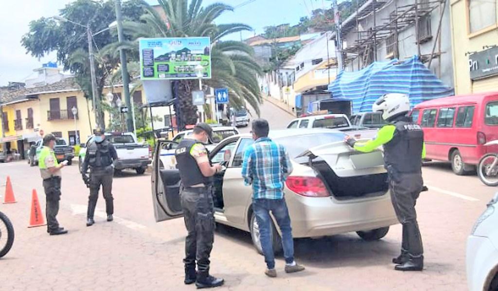 Los controles persisten en la ciudad y provincia de Loja.