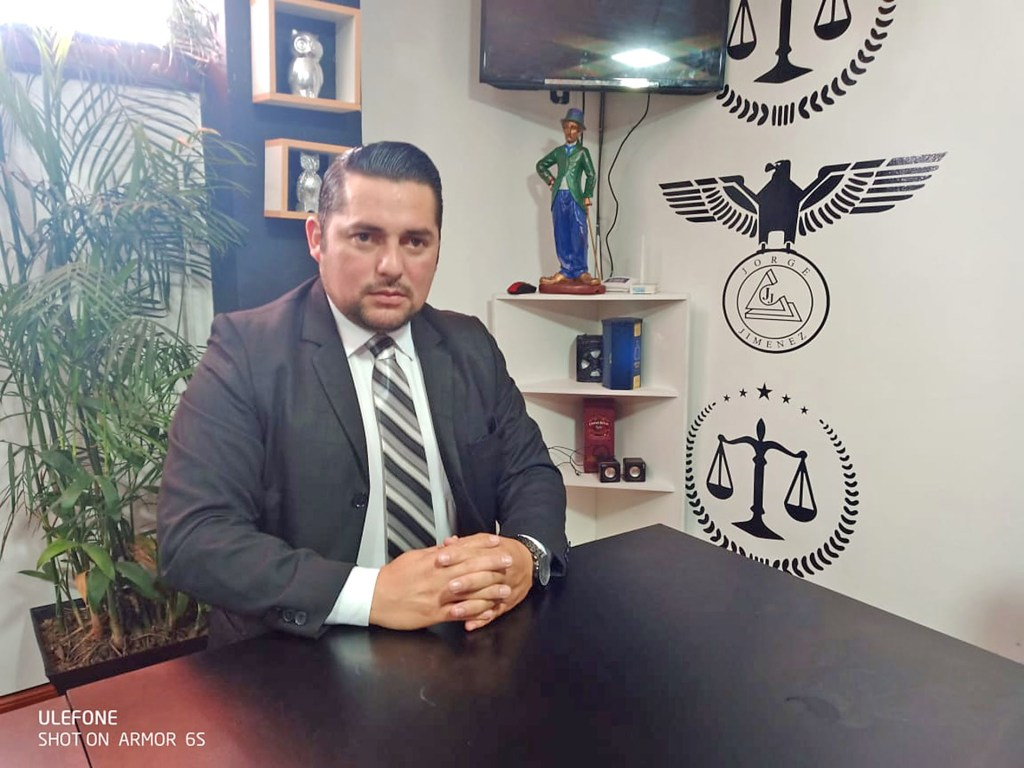 Bladimir Salazar Peña se unió al estudio jurídico Jiménez y Asociados.