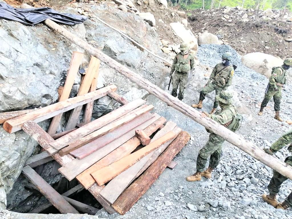 En el operativo estuvieron los funcionarios de la Arcernnr.