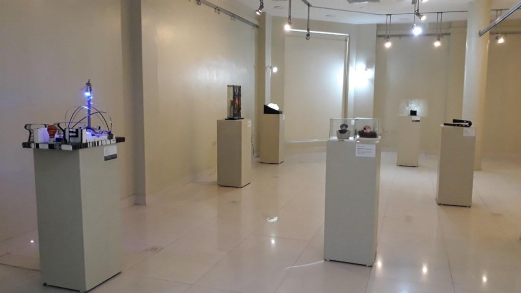 La muestra se cumple en la Sala de Exposiciones 'Ángel Rubén Garrido'.