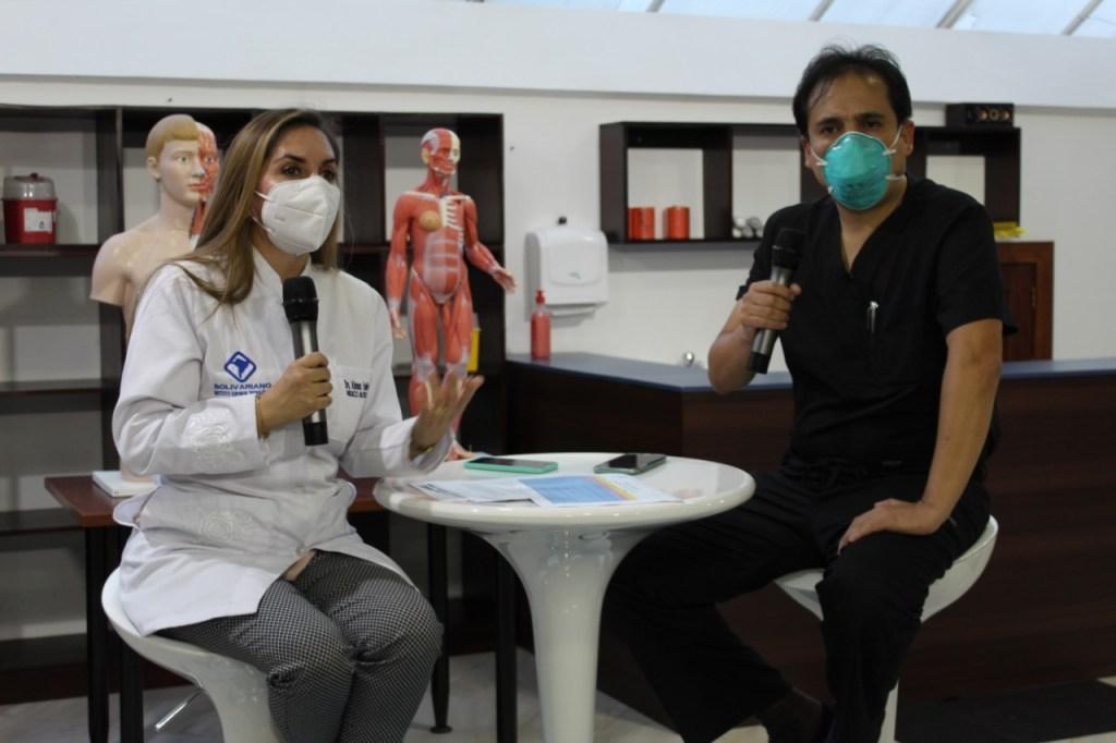 Cada miércoles, de 18:00 a 19:00, se realiza el programa 'Cuidando tu salud'.