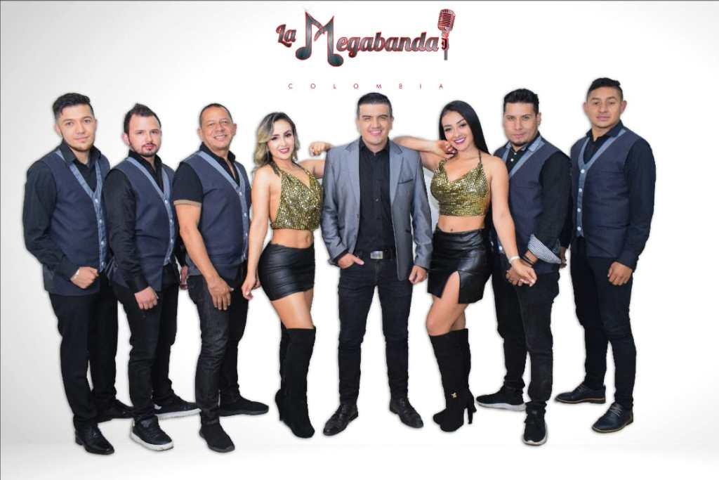 Todos los integrantes de La Megabanda están radicados en la ciudad de Bogotá.