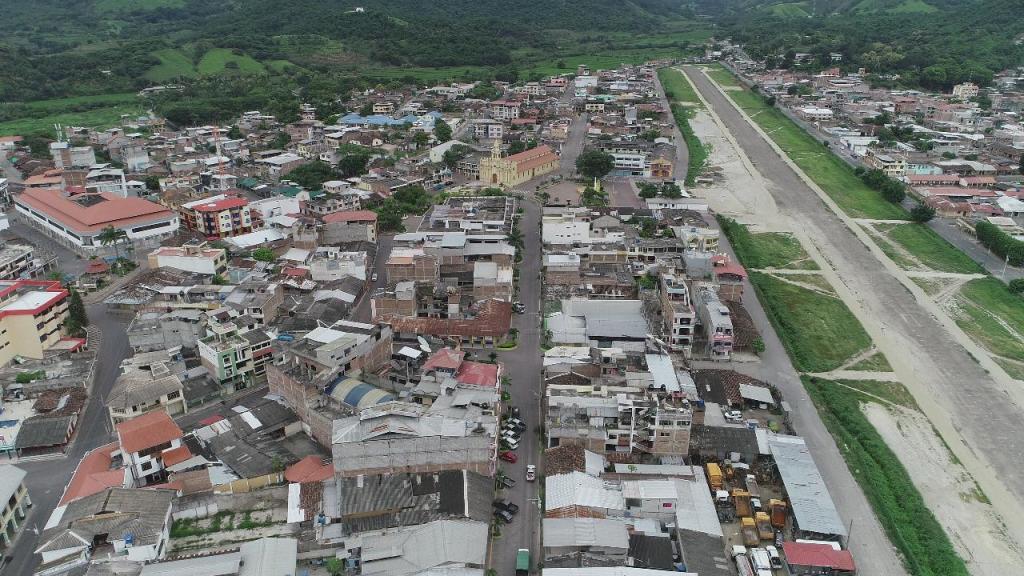 El epicentro del sismo, según el Instituto Geofísico Ecuatoriano, tuvo lugar en la frontera sur, cerca de Macará.