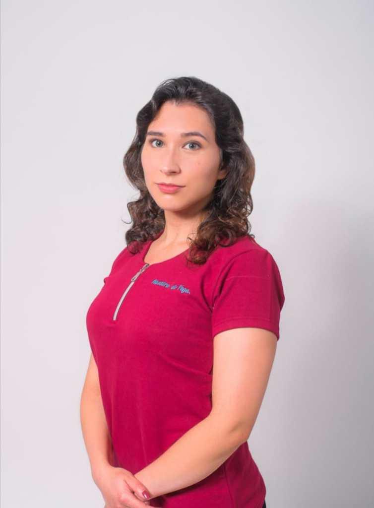 Angye Andrade es fisioterapeuta.
