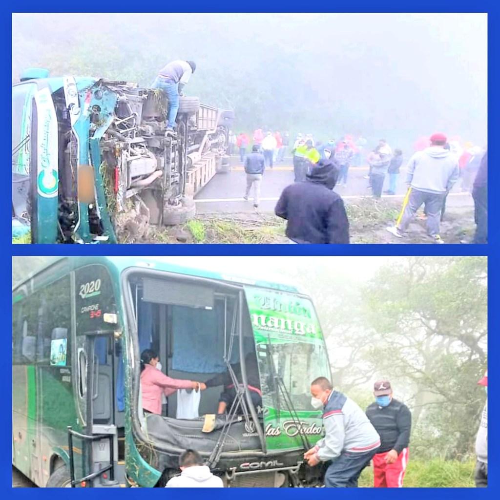 El accidente ocurrió la madrugada del último domingo.