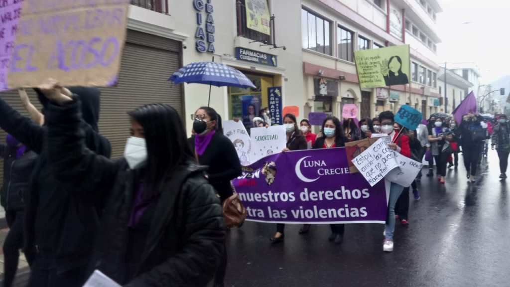 Diversos sectores hicieron escuchar su voz en las calles de Loja.