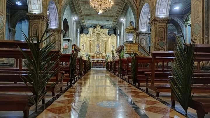 Las celebraciones se pueden seguir a través de las cuentas de Facebook de cada parroquia eclesiástica.